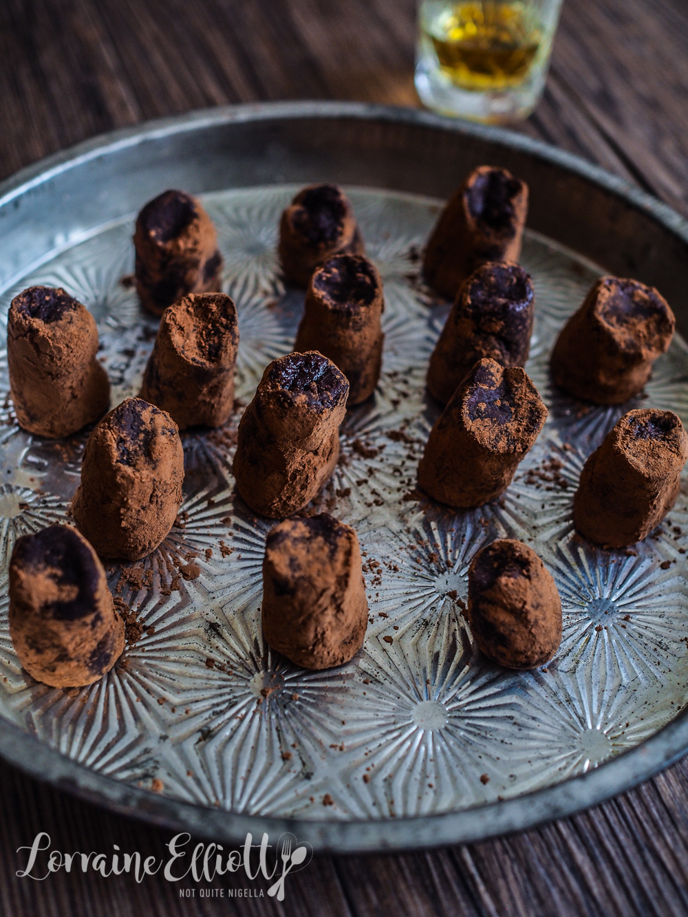 Gin, Whisky, Rum, Sherry and Coffee Boozy Chocolate Truffles