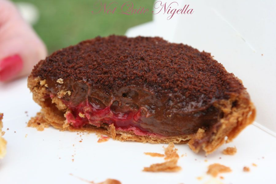 Bourke Street Bakery, Surry Hills Raspberry Chocolate mousse tart