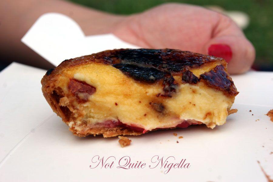 Bourke Street Bakery, Surry Hills Strawberry vanilla brulee tart