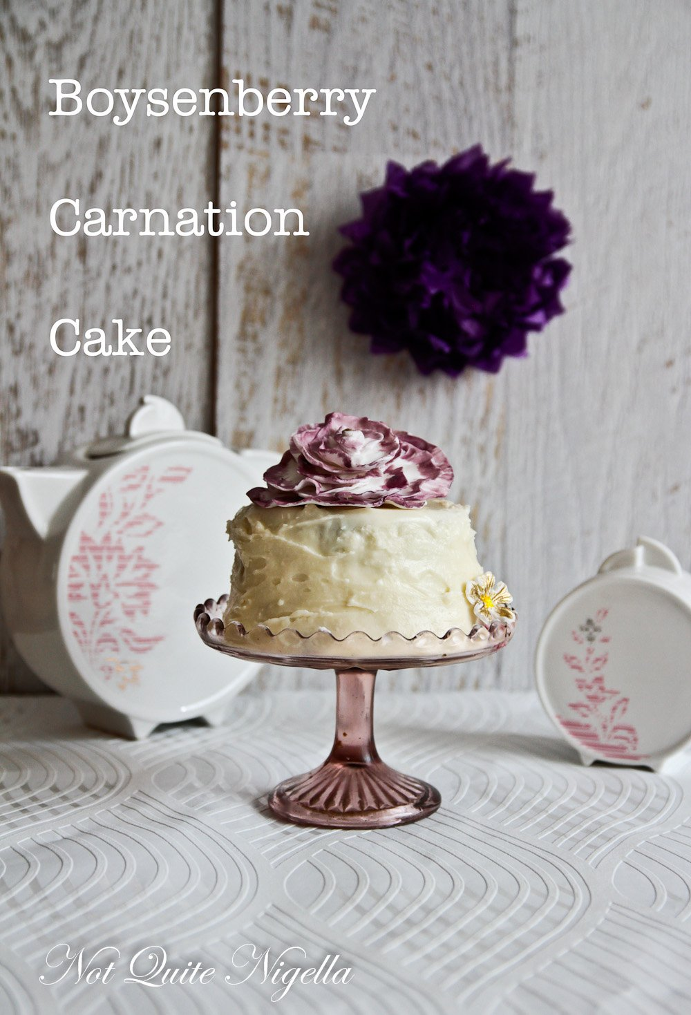 Boysenberry Cake