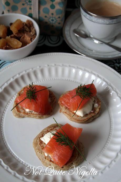 blini smoked salmon