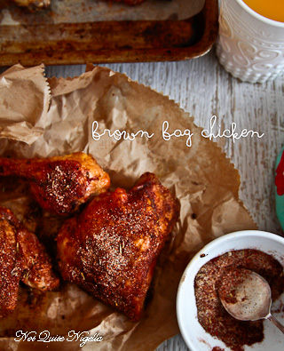 Brown Bag Cajun Chicken
