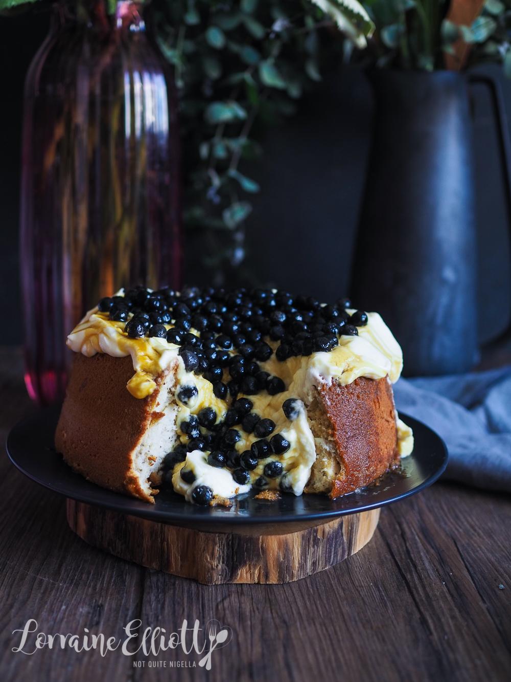Bubble Tea Boba Chiffon Cake