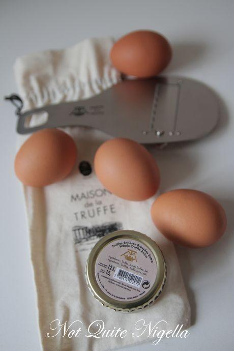 truffle egg pasta