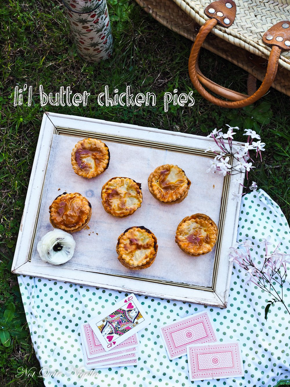 Butter Chicken Pie