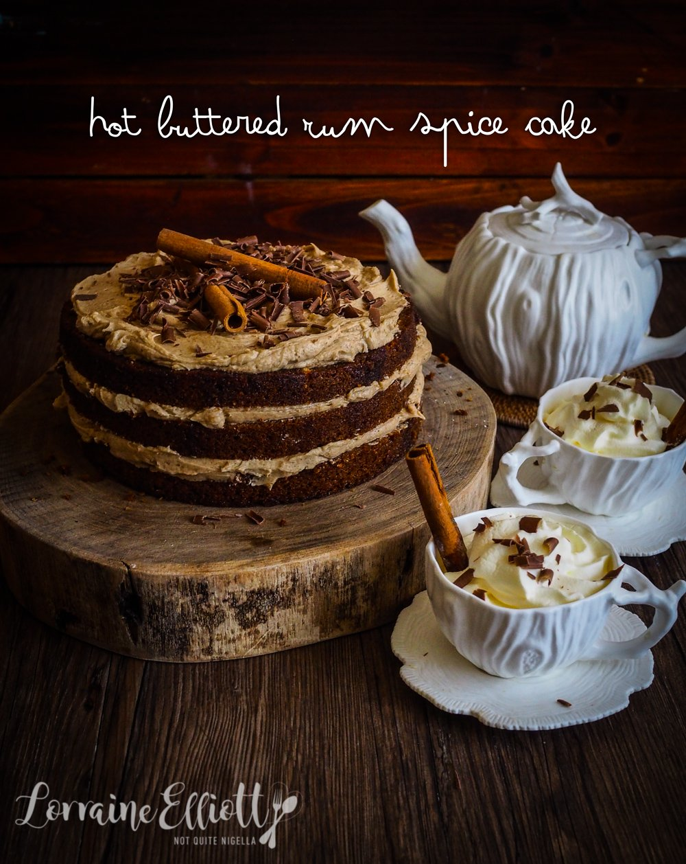 Buttered Rum Spice Cake