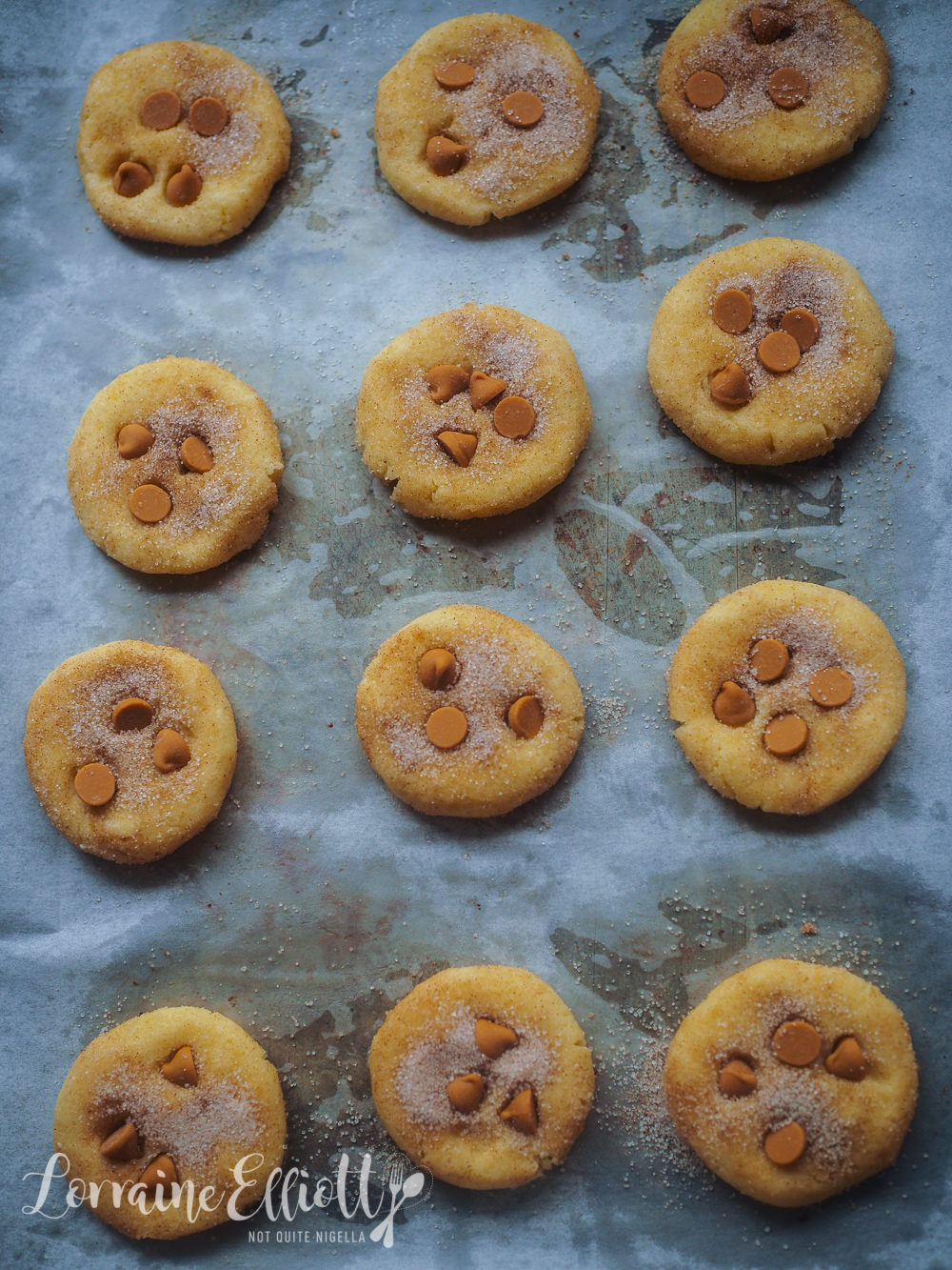Nordic Cardamom Butterscotch Snickerdoodles