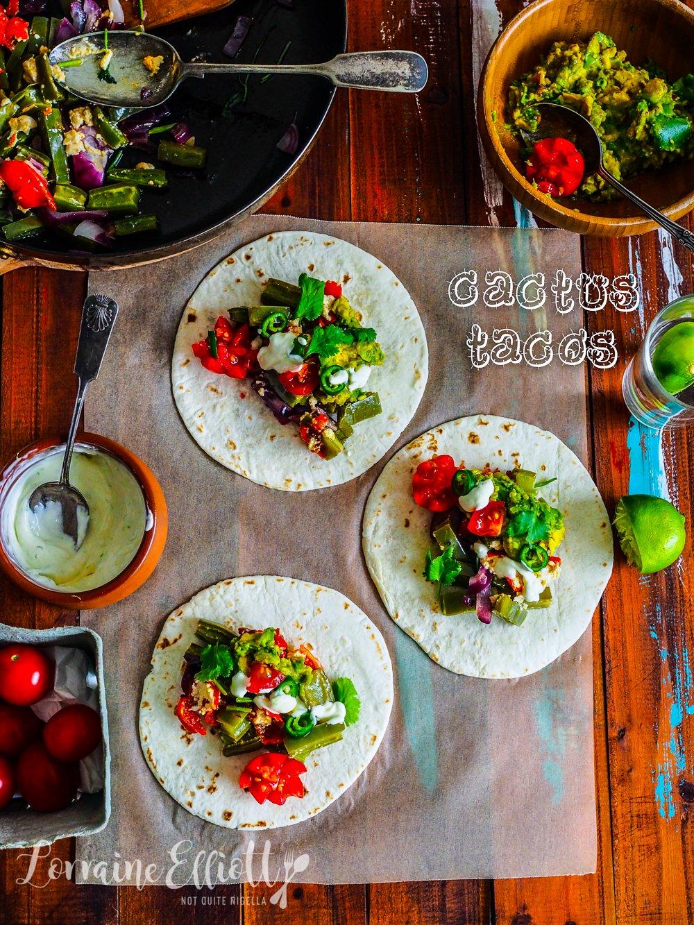 A Thorny Ingredient: Cactus or Nopales Tacos