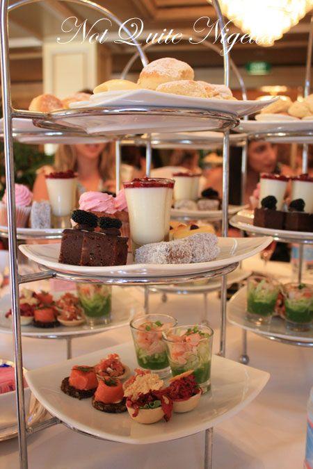 sir stamford pink high tea tiers 2