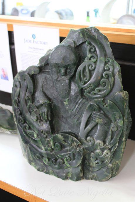 carved jade