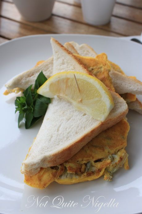 whitebait sandwich