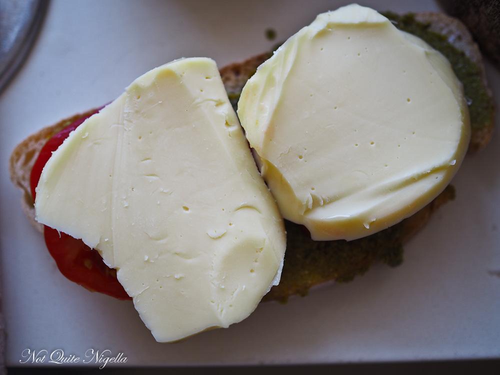 Caprese Toastie Toasted Sandwich