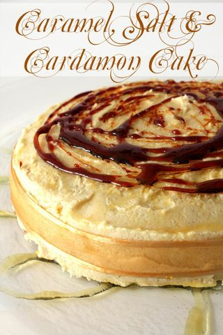 Caramel Cake with Caramelised Butter Frosting-Daring Baker's Challenge November 2008