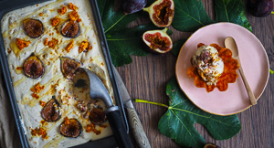 A Fig Deal! Caramelised Fig & Honeycomb Ice Cream