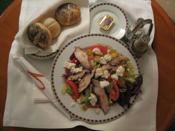 Caesar salad polish style