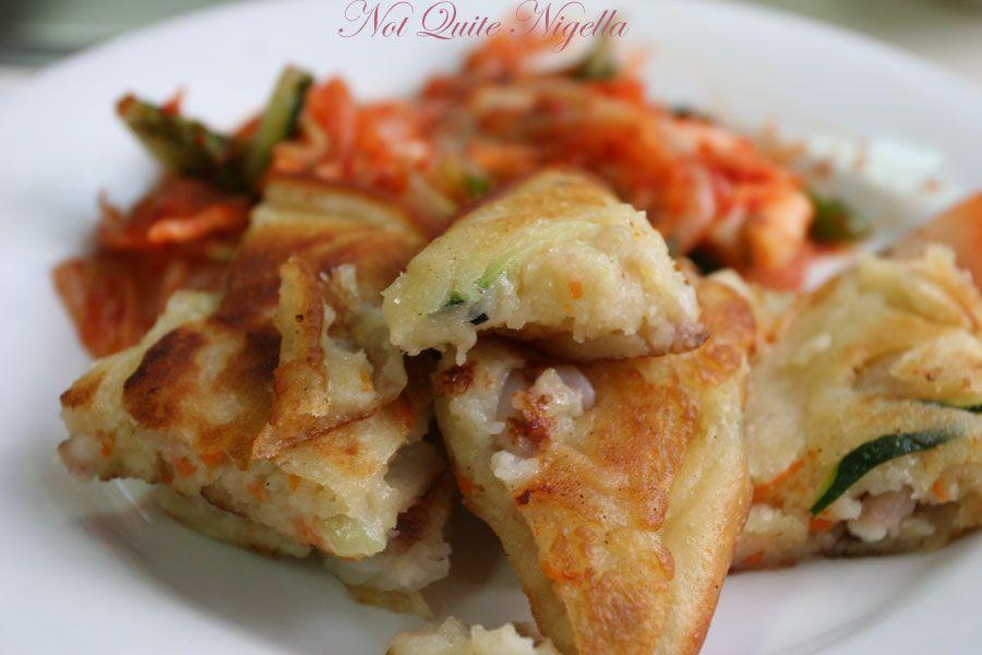 Carne Station at Parramatta  Seafood pancake & Kimchi