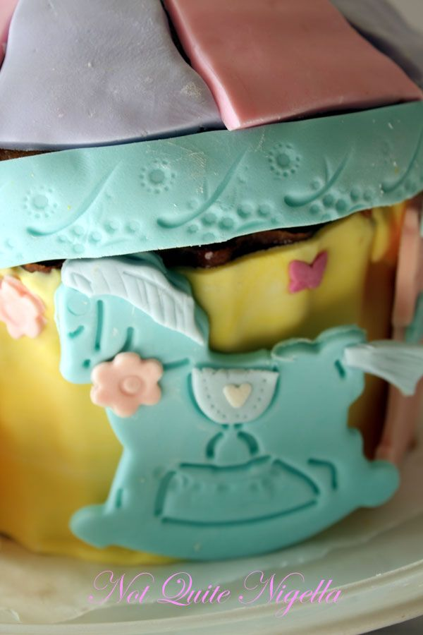 Carousel Cake for a little one!