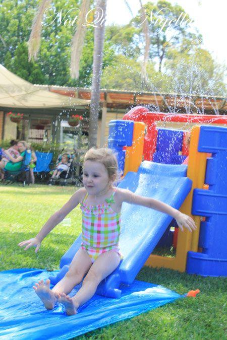 australia day bbq slip slide 2