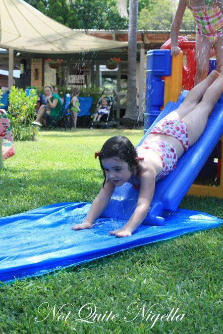 australia day bbq slip slide 3