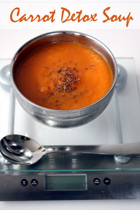 Carrot, Cumin and Ginger Detox Soup