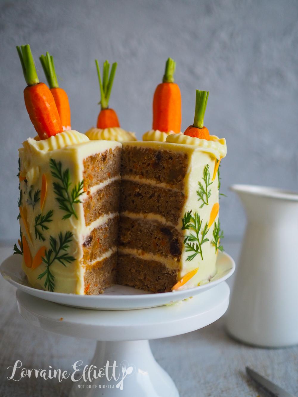 Carrot Cake, Ginger & Biscoff Spice Cake