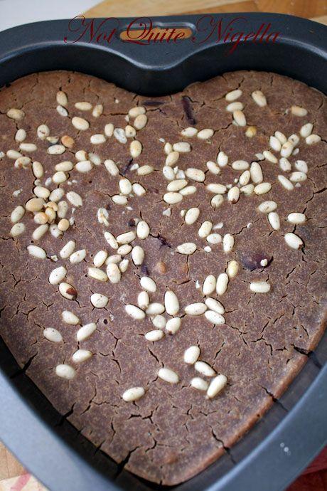 Castagnaccio - Italian Chestnut Cake