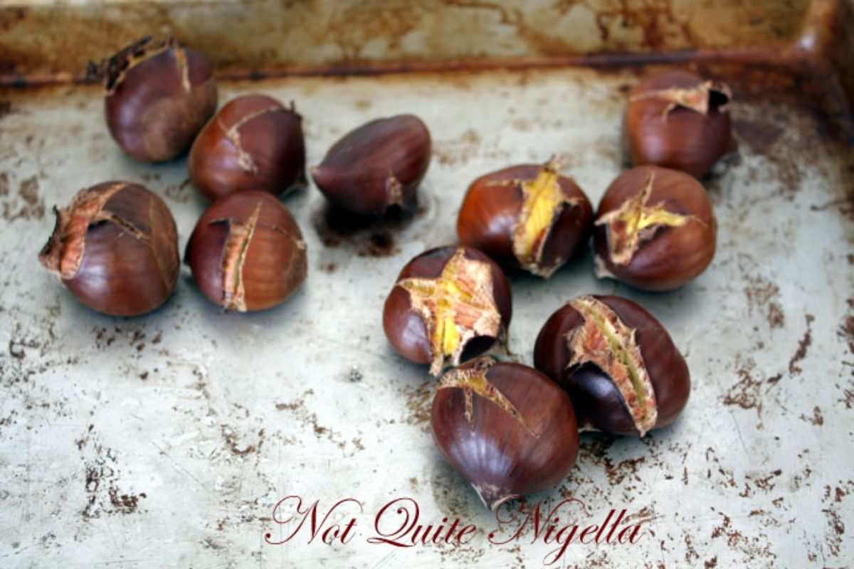 Chocolate Chestnut Cake Nigella