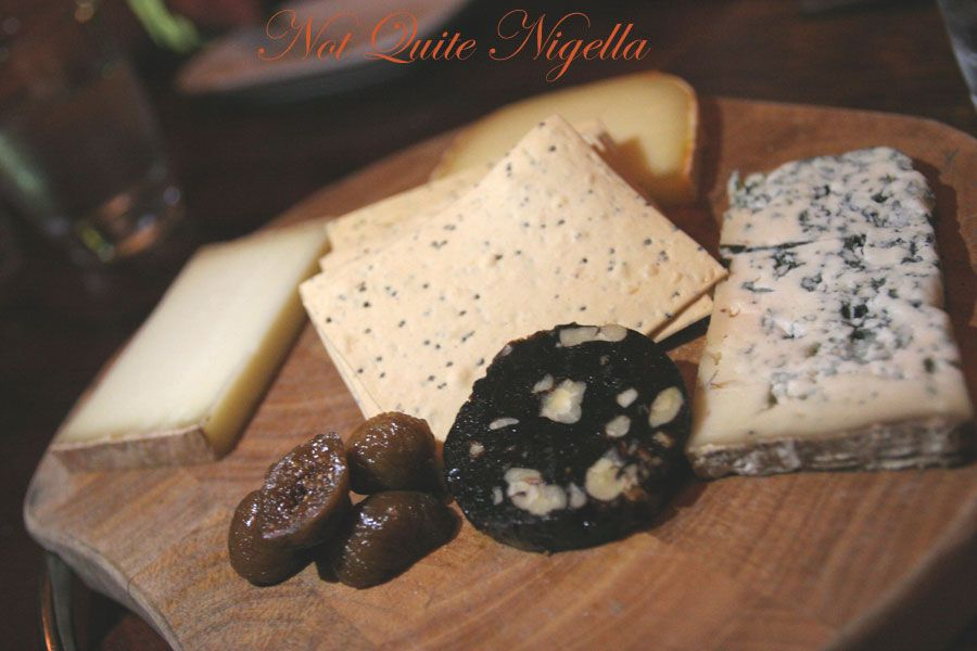 Catalonia at Kirribilli: Spanish Cheese platter
