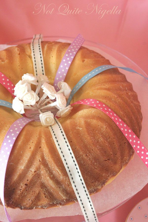 Bridemaid's Bundt Cake