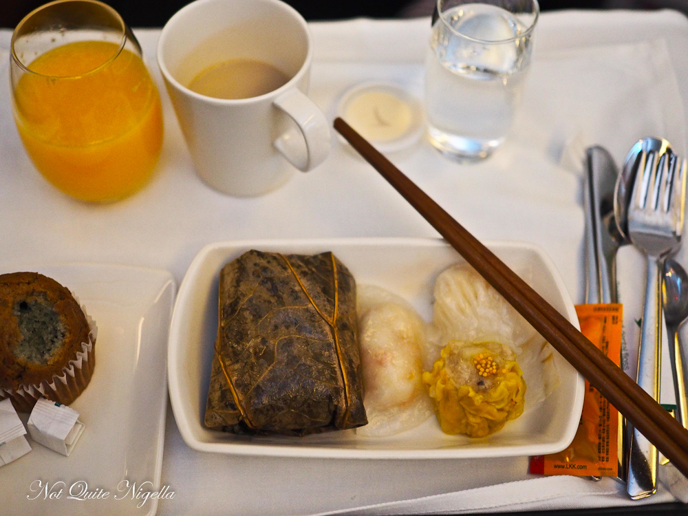 Cathay Pacific Flight Review
