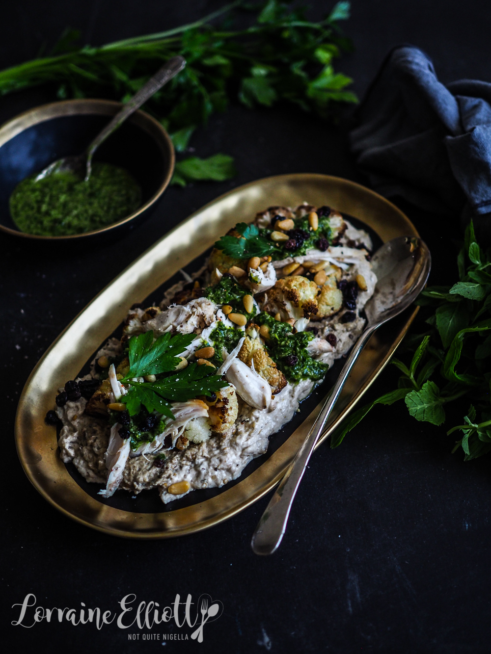 Cauliflower & Chicken Salad