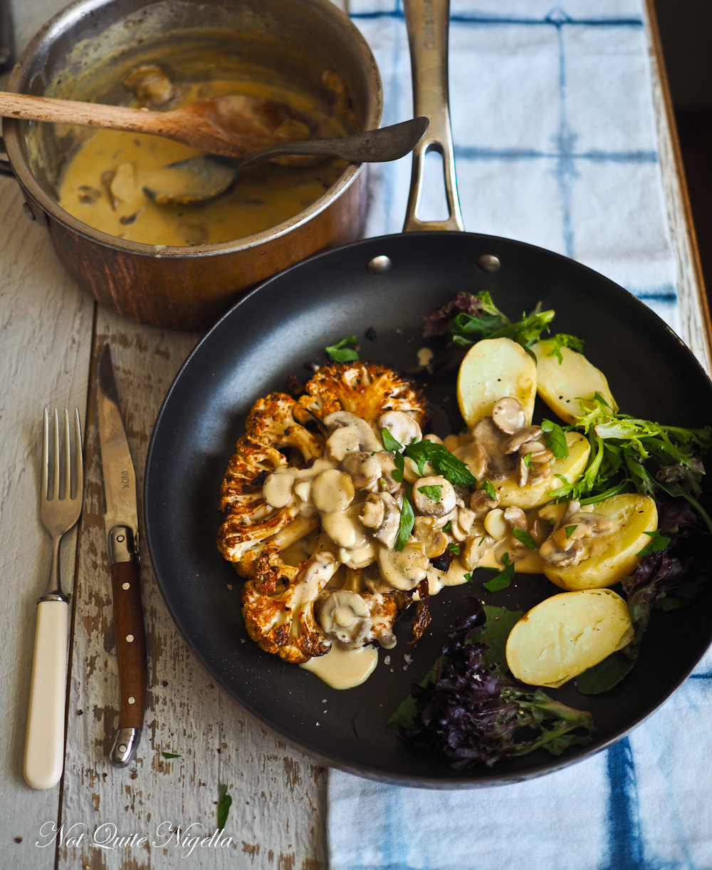 Easy Cauliflower Steak recipe