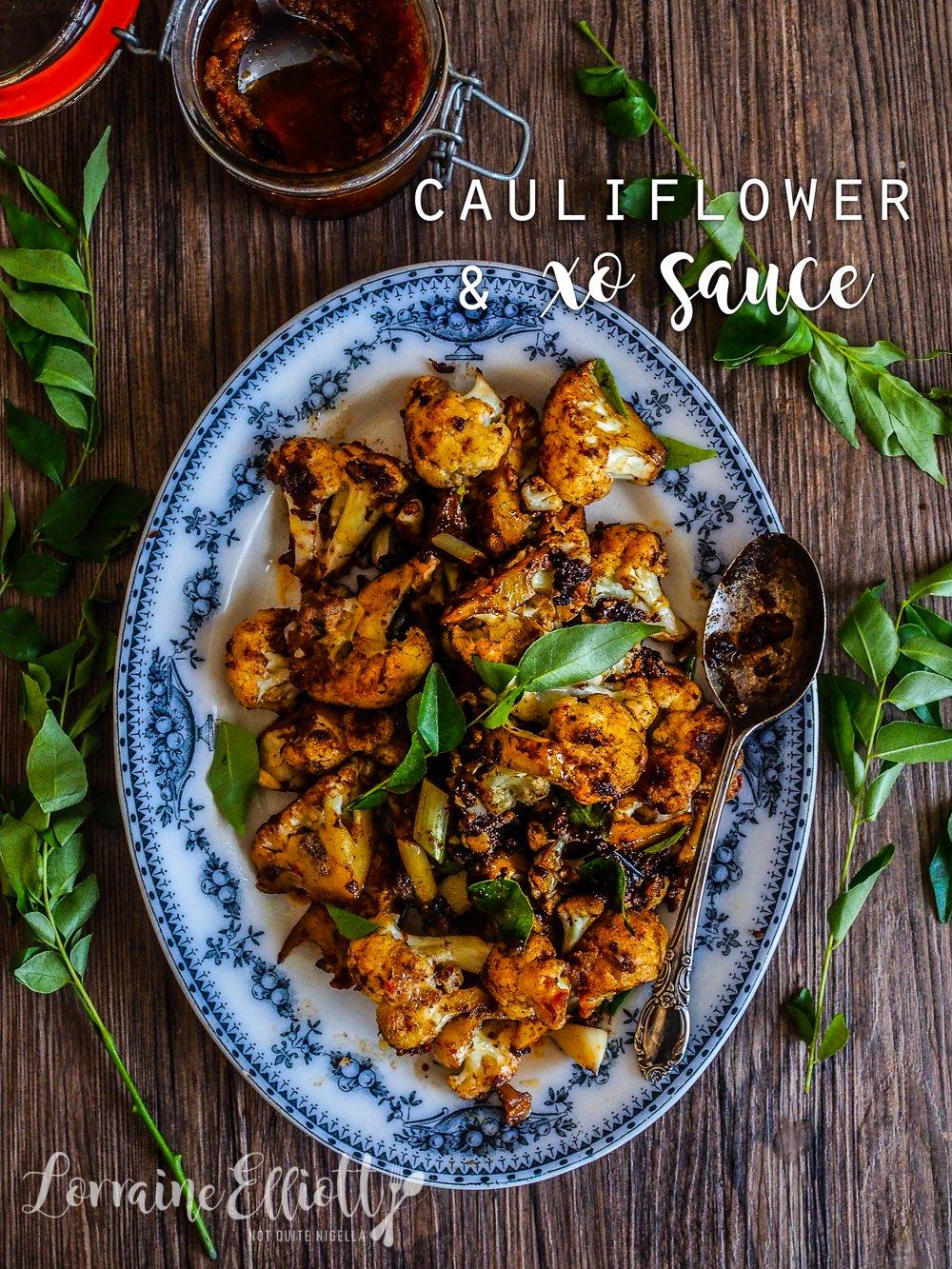 Cauliflower With XO Sauce