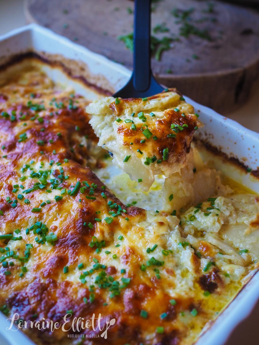Celeriac Potato Gratin