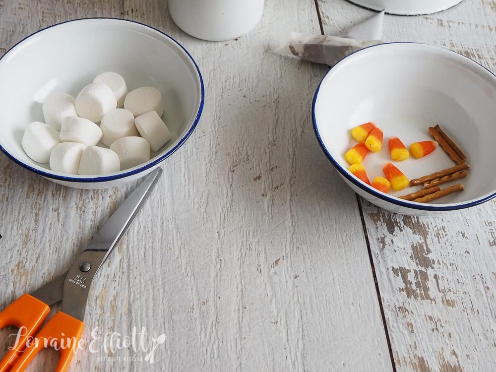 Chai Eggnog Snowman