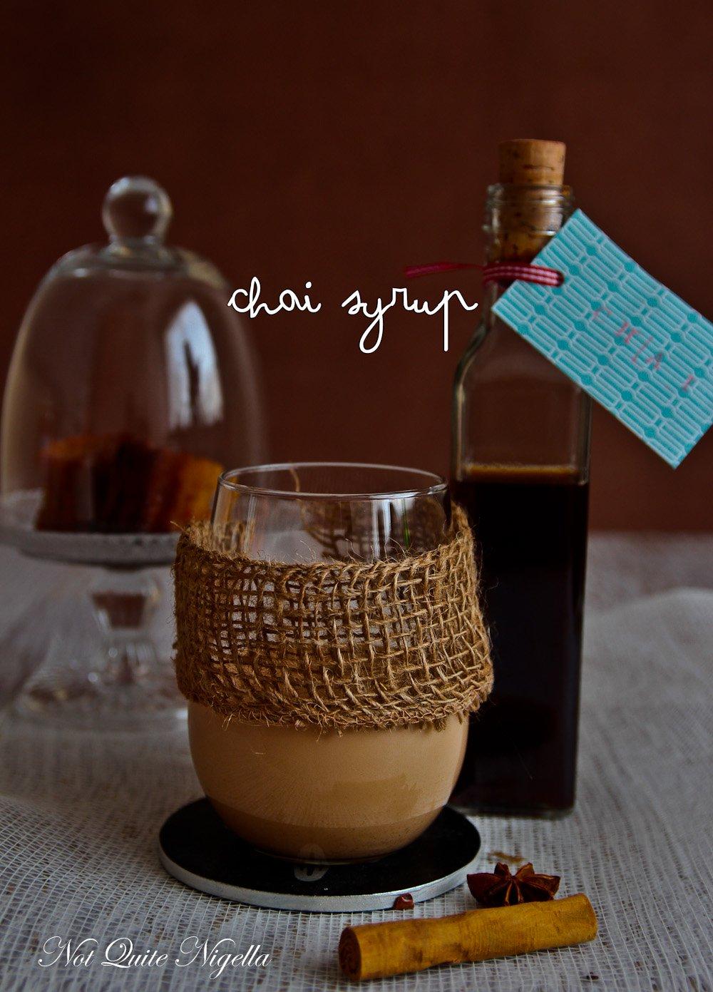 Chai Syrup