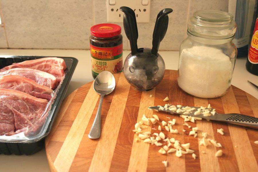 Char Sieu Barbecued Pork