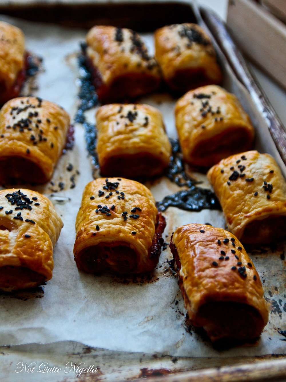 Chair Siu Sausage Rolls