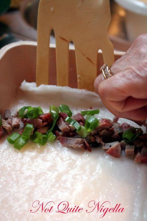 Chee Chong Fun Rice Noodle Rolls- NQN's Mum's recipe