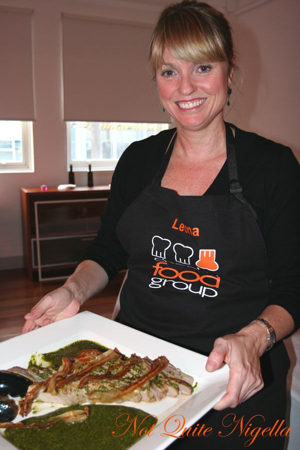 Cheeky Food group Cooking Class Leona