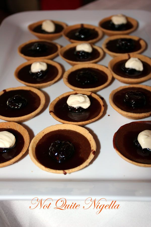Cheeky Food Group cooking class Chocolate tarts