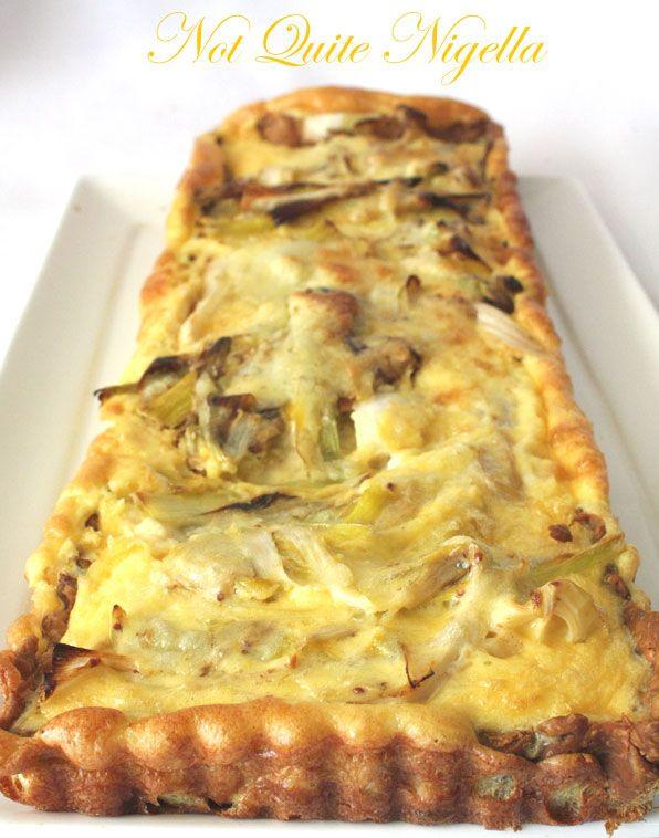 Cheese and Leek Tart