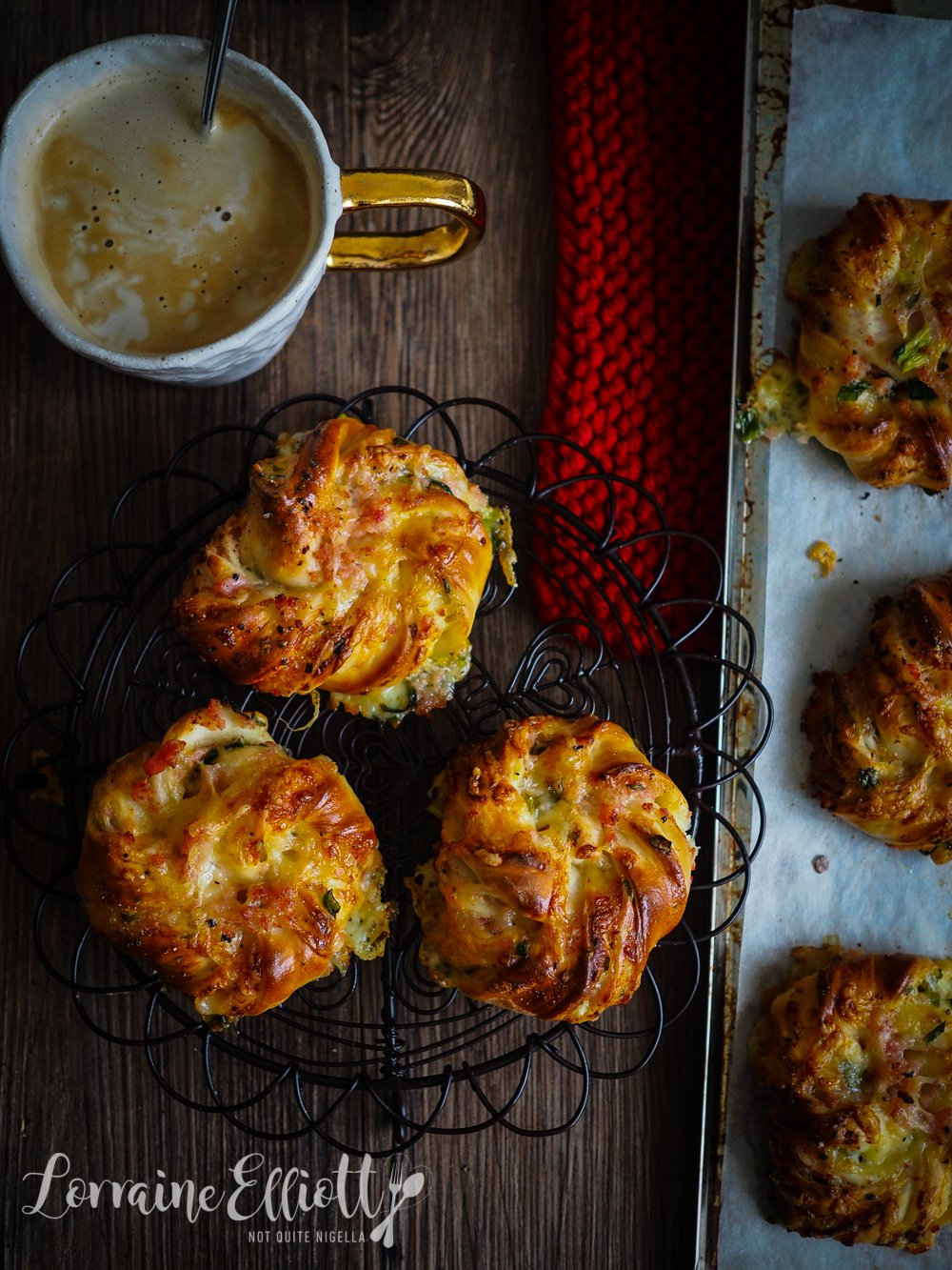 Cheese & Bacon Scrolls