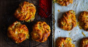 You're Bacon Me Crazy Cheese & Bacon Scrolls!