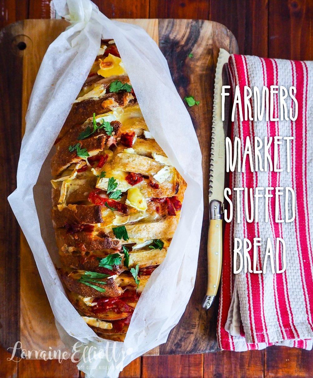 Easy Cheese Chorizo Stuffed Bread