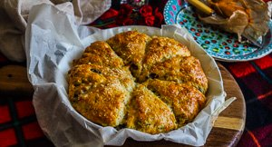 Grate Picnic Food: Cheesy Olive & Herb Scones!