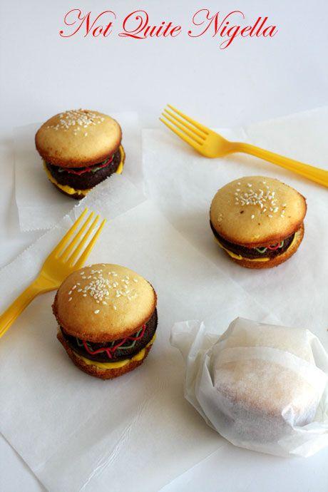 cheeseburger cupcakes 2