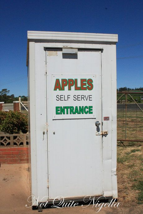 self serve apples