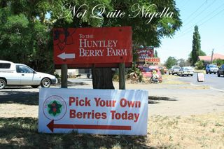huntley berry sign