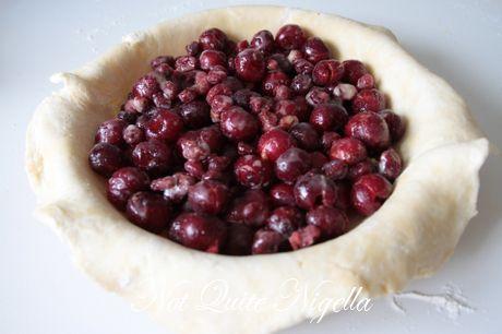 cherry cranberry galette